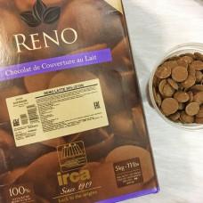 Шоколад IRCA - молочный RENO, 32%, 200гр.