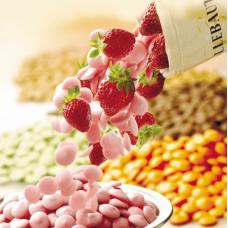 Шоколад BARRY CALLEBAUT - со вкусом клубники, 2,5кг