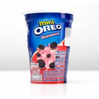 Печенье Oreo Mini Strawberry, 61.3 г (2611946)