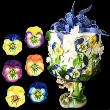 """Сахарные цветочки  - """"Анютины глазки"""" (53910)"""
