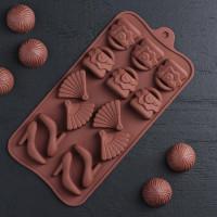 Силиконовая форма для конфет - Дамский набор (1063397)