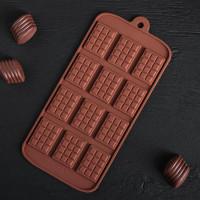Силиконовая форма для конфет - Плитка (14001)