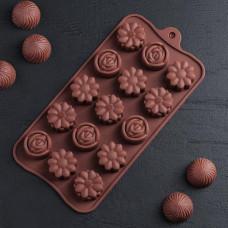 Силиконовая форма для конфет - Ассорти (1158540)