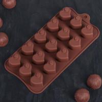 Силиконовая форма для конфет - Сердцеедка (1687510)