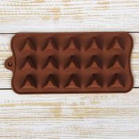 Силиконовая форма для конфет - Треугольнички (2600580)