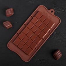 Силиконовая форма для конфет - Плитка (2854627)