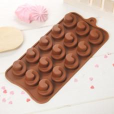 Силиконовая форма для конфет - Вихрь (2854837)