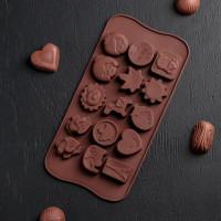 Силиконовая форма для конфет - Жизнь прекрасна (2854839)