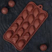 Силиконовая форма для конфет - Ракушки (2854847)