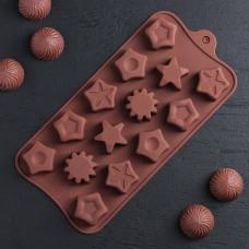 Силиконовая форма для конфет - Звезды (3146756)