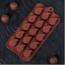 Силиконовая форма для конфет - Капелька (3624969)