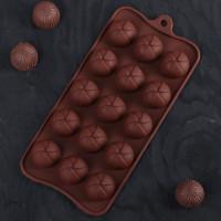 Силиконовая форма для конфет - Завиток (3976039)