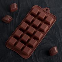 Силиконовая форма для конфет - Шоколадные конфеты (3976065)