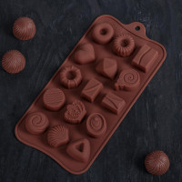 Силиконовая форма для конфет - Лакомство (4149593)