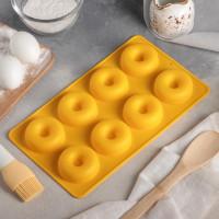 """Форма для выпечки """"Пончики"""" 8 яч. (630809)"""