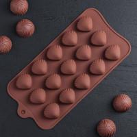 Силиконовая форма для конфет - Ракушка (762771)