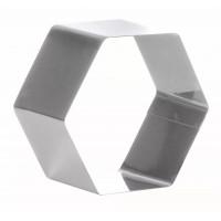 Металлическая форма - Шестиугольник, 20см. (3H10x20RU)