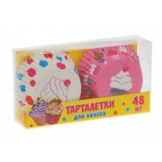 "Набор тарталеток ""Пирожное"" 48 шт"