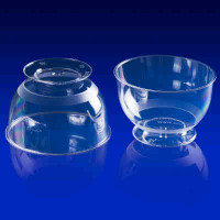 Пластиковый стаканчик - Кристалл, 200мл. 16шт. (1005)
