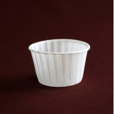 Бумажная форма - Маффин, белый, 100шт
