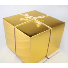 Коробка для торта Gold, 30*30*h19см