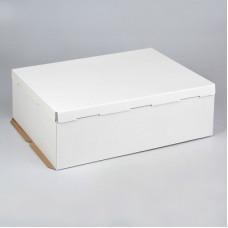 Упаковка для торта  - Белая, 60*40*h21см. (SP 60*40*21)