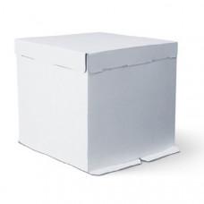 Упаковка для торта   - Белая, 30*30*h30см. (SP 30*30*30)