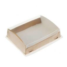 Упаковка ECO OpBox 1000 с крышкой, 185*140мм
