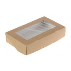 Упаковка ECO TABOX 1000 с окошком, 200*120*40мм