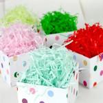 Бумажный наполнитель для упаковки подарков