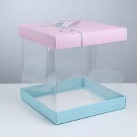 Упаковка для торта «Have a nice day», 30 × 30 см (3929582)