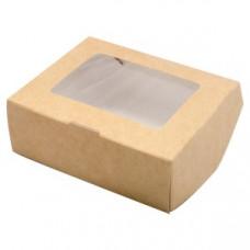 Упаковка  ECO TABOX 300 с окошком, 100х80х30 мм