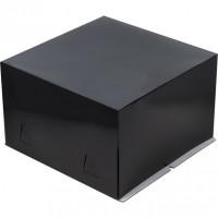 Упаковка для торта   - Черная 28*28*h18см.