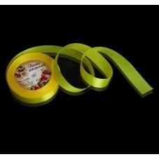 Лента атласная - желтая, 20мм. (1218243)