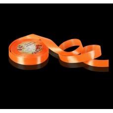 Лента атласная - апельсиновая, 20мм. (1218280)