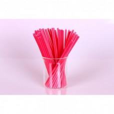 Палочки для кейк-попс  красные, 50шт