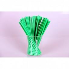 Палочки для кейк-попс  зеленые, 50шт