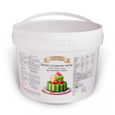 "Сахарная мастика для торта ""VIZYON"" - Белая, 6кг."