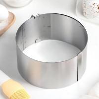 """Форма для выпечки с регулируемым диаметром """"Круг"""" от 16 до 30см, h12см (4046500)"""