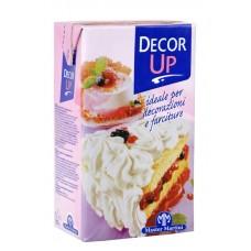 """Крем на растительных маслах для взбивания """"Decor Up"""", 28%, 1л."""