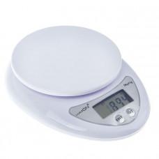 Весы LuazON LVK-501, электронные, кухонные, до 5 кг, белые(1147001)