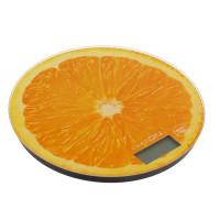 """Весы электронные кухонные LuazON LVK-701 до 7 кг, круглые, стекло, """"Апельсин""""(3549050)"""