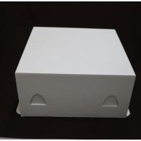 Упаковка для торта - Белая, 30*30*h19 (100шт)
