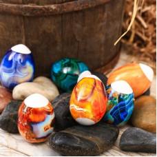 """Пасхальная термоусадочная плёнка """"Самоцветы"""" на 7 яиц (3786451)"""