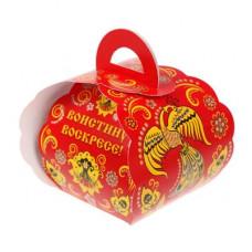 """Коробочка подарочная для яйца """"Христос Воскресе!"""" под хохлому (1193838)"""