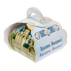 """Коробочка подарочная для яйца """"Христос Воскресе. Храм"""" (1746987)"""