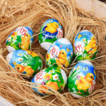 Термоплёнка и наклейки на яйца