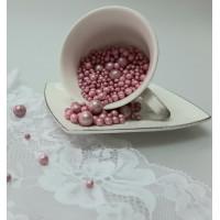 """Сахарные бусинки - """"Малиновые Микс"""", 50гр. (50/3/5/10)"""
