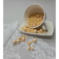 """Сахарные бусинки - """"Желтые Микс"""", 50гр. (50/3/5/10)"""