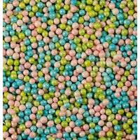 Посыпка кондитерская - Шарики голубые, зеленые, розовые перламутровые, 1кг. (20196)